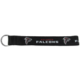 Atlanta Falcons  Lanyard Key Chain - Our wrist strap lanyard key chain is made of durable and comfortable woven material and is a not only a great key chain but an easy way to keep track of your keys. The bright Atlanta Falcons graffics makes this key chain easy to find in gym bags, purses and in the dreaded couch cushions.