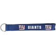 New York Giants  Lanyard Key Chain - Our wrist strap lanyard key chain is made of durable and comfortable woven material and is a not only a great key chain but an easy way to keep track of your keys. The bright New York Giants graffics makes this key chain easy to find in gym bags, purses and in the dreaded couch cushions.