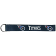 Tennessee Titans  Lanyard Key Chain - Our wrist strap lanyard key chain is made of durable and comfortable woven material and is a not only a great key chain but an easy way to keep track of your keys. The bright Tennessee Titans graffics makes this key chain easy to find in gym bags, purses and in the dreaded couch cushions.