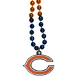 Chicago Bears Mardi Gras Bead Necklaces - Have a little fun on game day with our 36 inch Mardi Gras bead necklaces with extra large team logos.