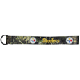 Pittsburgh Steelers Lanyard Key Chain, Mossy Oak