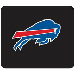 Bills NFL Mouse Pad - Our quality NFL mouse pad features a silk screened Buffalo Bills logo. Officially licensed NFL product Licensee: Siskiyou Buckle .com
