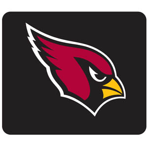 Cardinals Mouse Pads - Our quality NFL mouse pad features a silk screened Arizona Cardinals logo. Officially licensed NFL product Licensee: Siskiyou Buckle Thank you for visiting CrazedOutSports.com