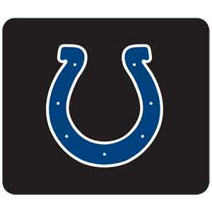 "NFL Mouse Pad - Indianapolis Colts - Our quality NFL mouse pad features a silk screened Indianapolis Colts logo. 8"" x 7"" Officially licensed NFL product Licensee: Siskiyou Buckle Thank you for visiting CrazedOutSports.com"