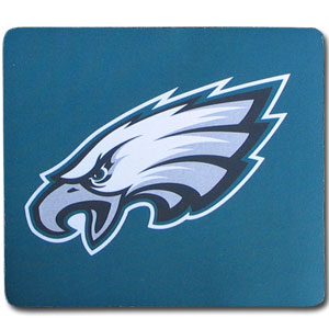 "NFL Mouse Pad - Philadelphia Eagles - Our quality NFL mouse pad features a silk screened Philadelphia Eagles logo. 8"" x 7"" Officially licensed NFL product Licensee: Siskiyou Buckle .com"