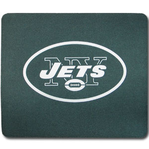 "NFL Mouse Pad - New York Jets - Our quality NFL mouse pad features a silk screened New York Jets logo. 8"" x 7"" Officially licensed NFL product Licensee: Siskiyou Buckle Thank you for visiting CrazedOutSports.com"