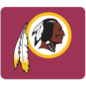 "NFL Mouse Pad - Washington Redskins - High quality NFL mouse pad 8"" x 7"" made of durable neoprene. Officially licensed NFL product Licensee: Siskiyou Buckle Thank you for visiting CrazedOutSports.com"