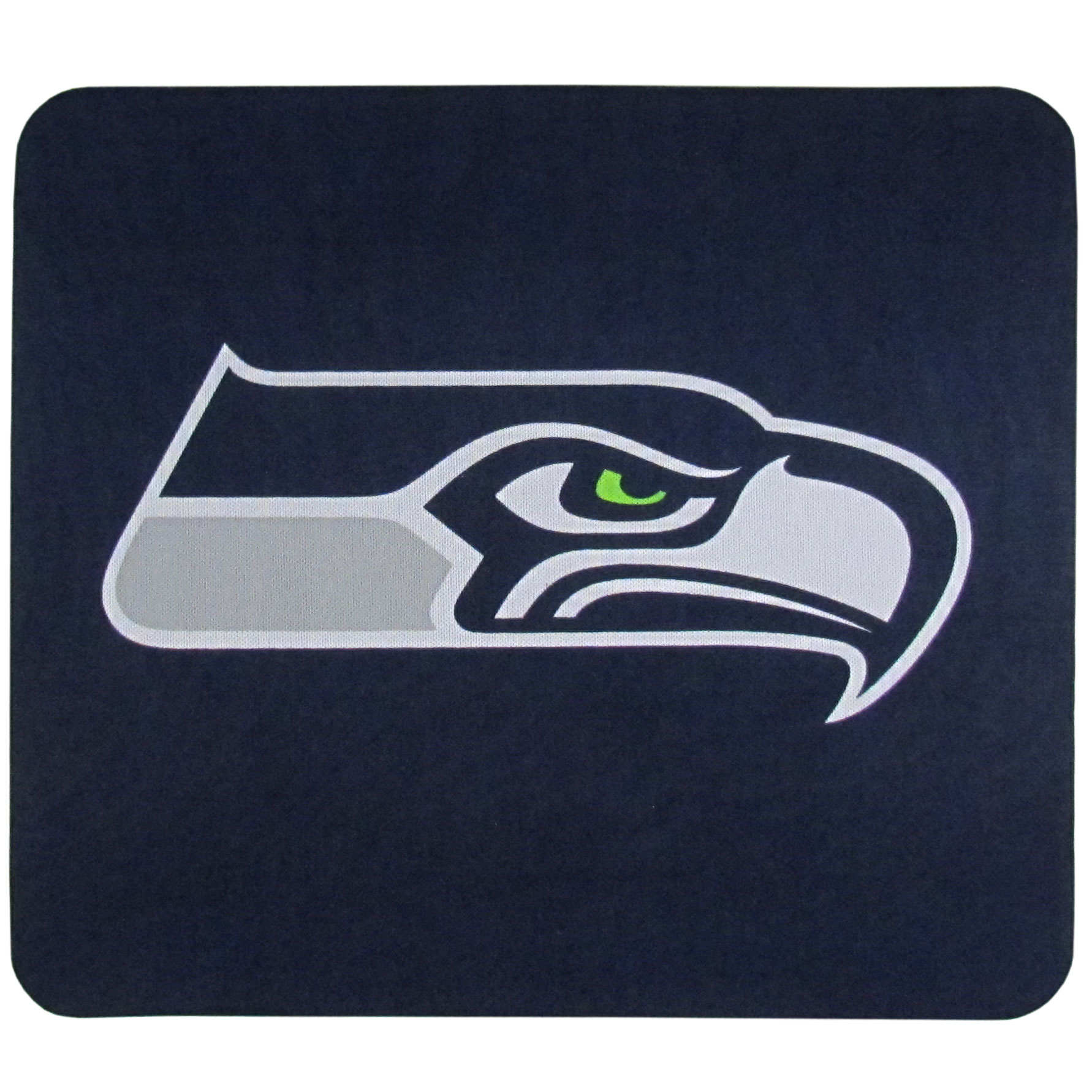 Seattle Seahawks Mouse Pads - Our licensed neoprene mouse pads have the Seattle Seahawks silk screen on the pad and are 7 x 8 inches in size.