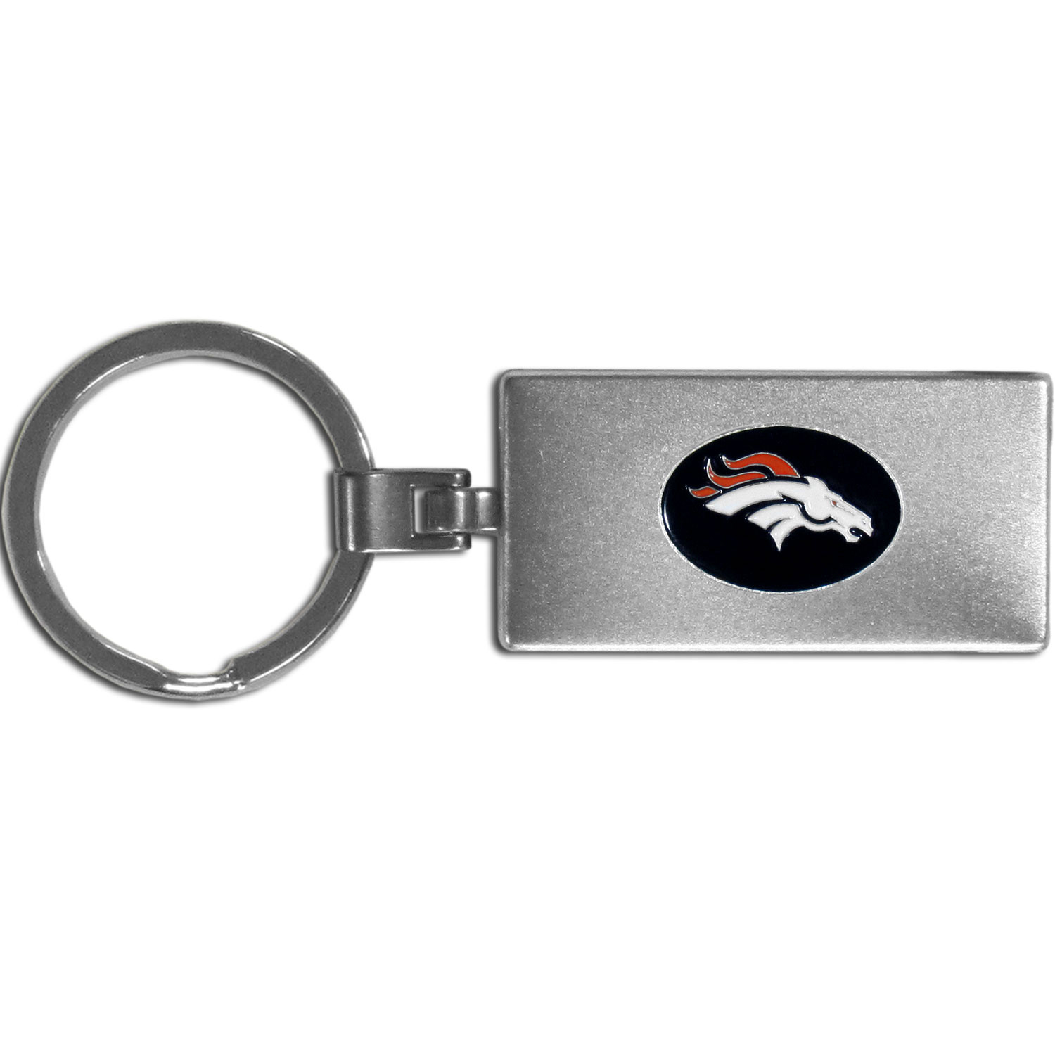 Denver Broncos Multi-tool Key Chain - Be the hero at the tailgate, camping, or on a Friday night with your Denver Broncos Multi-Tool Keychain which comes complete with bottle opener, scissors, knife, nail file and screw driver. Be it opening a package or a beverage Siskiyou's Multi-Tool Keychain goes wherever your keys do. The keychain hangs at 4 inches long when closed.