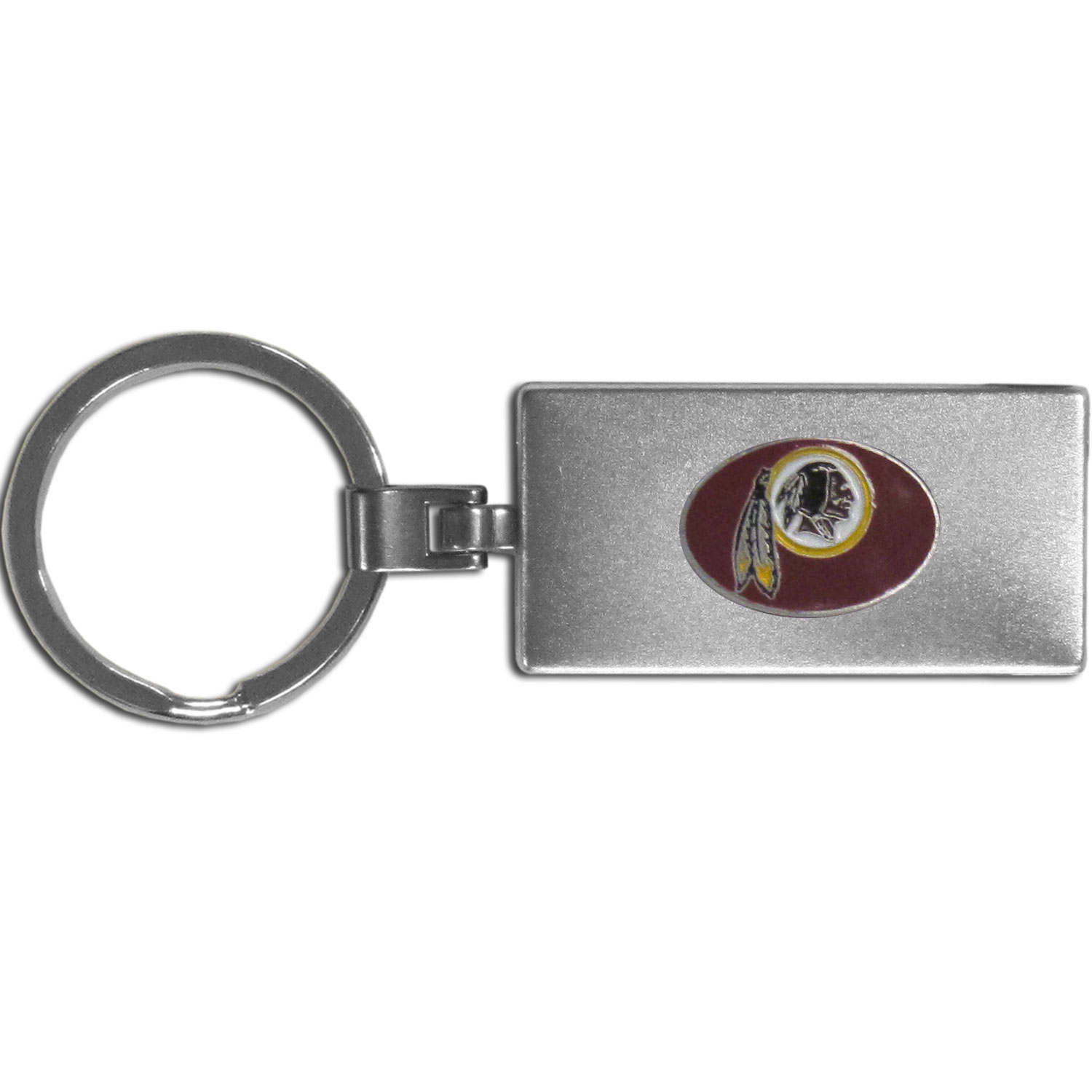 Washington Redskins Multi-tool Key Chain - Be the hero at the tailgate, camping, or on a Friday night with your Washington Redskins Multi-Tool Keychain which comes complete with bottle opener, scissors, knife, nail file and screw driver. Be it opening a package or a beverage Siskiyou's Multi-Tool Keychain goes wherever your keys do. The keychain hangs at 4 inches long when closed.