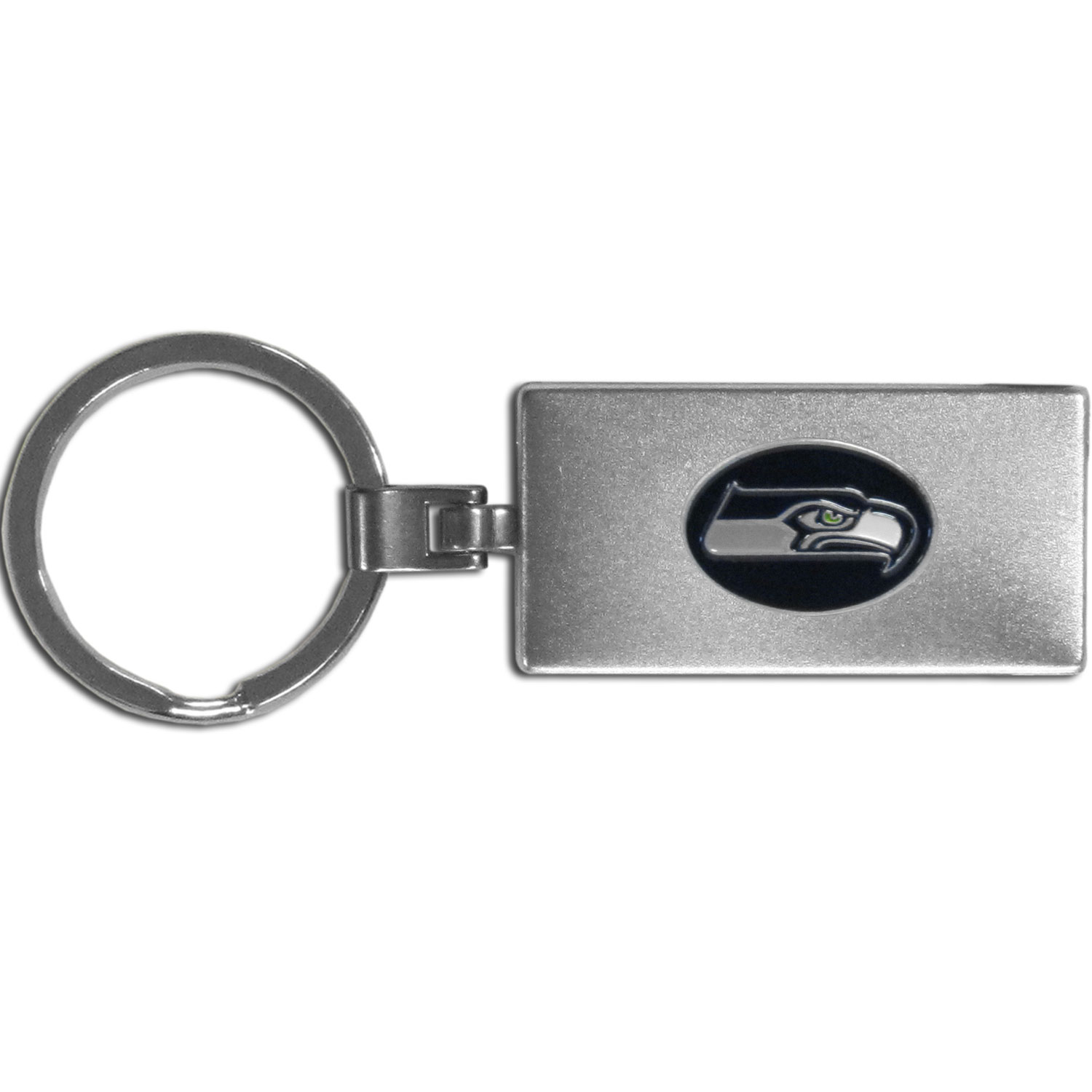 Seattle Seahawks Multi-tool Key Chain - Be the hero at the tailgate, camping, or on a Friday night with your Seattle Seahawks Multi-Tool Keychain which comes complete with bottle opener, scissors, knife, nail file and screw driver. Be it opening a package or a beverage Siskiyou's Multi-Tool Keychain goes wherever your keys do. The keychain hangs at 4 inches long when closed.
