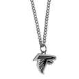 Atlanta Falcons Chain Necklace with Small Charm - Make a statement with our collegiate chain necklaces. The 20 inch chain features a fully cast, high polish Atlanta Falcons pendant with vivid enameled details. Perfect accessory for game day and nice enough to wear everyday! Officially licensed NFL product Licensee: Siskiyou Buckle .com