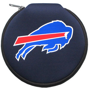 NFL CD/Blue Ray/DVD Case - Buffalo Bills - Our NFL neoprene CD/Blue Ray/DVD zippered cases feature the team logo and fit 12 discs. Officially licensed NFL product Licensee: Siskiyou Buckle .com