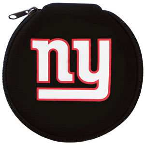 NFL CD/Blue Ray/DVD Case - New York Giants - Our NFL neoprene CD/Blue Ray/DVD zippered cases feature the team logo and fit 12 discs. Officially licensed NFL product Licensee: Siskiyou Buckle .com