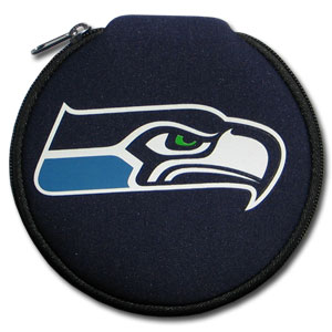 NFL CD/Blue Ray/DVD Case - Seattle Seahawks - Our NFL neoprene CD/Blue Ray/DVD zippered cases features the team Arizona Cardinals and fit 12 discs. Officially licensed NFL product Licensee: Siskiyou Buckle .com