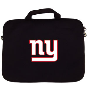 "New York Giants Laptop Bag - Our New York Giants neoprene laptop bags is designed to fit 15"" and most 17"" laptops and are approved to pass airport security without removing the equipment from the bag. Some 17"" laptops are designed with a wider border and may not fit this bag. (inner bag dimensions: 11 ¾""t x 15""w) Officially licensed NFL product Licensee: Siskiyou Buckle .com"