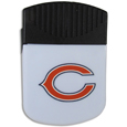 Chicago Bears Clip Magnet - Use this attractive Chicago Bears Clip Magnet to hold memos, photos or appointment cards on the fridge or take it down keep use it to clip bags shut. The Chicago Bears Clip Magnet features a silk screened Chicago Bears logo. Officially licensed NFL product Licensee: Siskiyou Buckle .com