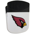 Arizona Cardinals Clip Magnet - Use this attractive Arizona Cardinals Clip Magnet to hold memos, photos or appointment cards on the fridge or take it down keep use it to clip bags shut. The Arizona Cardinals Clip Magnet features a silk screened Arizona Cardinals logo. Officially licensed NFL product Licensee: Siskiyou Buckle .com