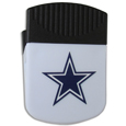 Dallas Cowboys Clip Magnet - Use this attractive Dallas Cowboys Clip Magnet to hold memos, photos or appointment cards on the fridge or take it down keep use it to clip bags shut. The Dallas Cowboys Clip Magnet features a silk screened Dallas Cowboys logo. Officially licensed NFL product Licensee: Siskiyou Buckle Thank you for visiting CrazedOutSports.com
