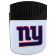 New York Giants Clip Magnet - Use this attractive New York Giants Clip Magnet to hold memos, photos or appointment cards on the fridge or take it down keep use it to clip bags shut. The New York Giants Clip Magnet features a silk screened New York Giants logo. Officially licensed NFL product Licensee: Siskiyou Buckle .com