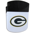 Green Bay Packers Clip Magnet - Use this attractive Green Bay Packers Clip Magnet to hold memos, photos or appointment cards on the fridge or take it down keep use it to clip bags shut. The Green Bay Packers Clip Magnet features a silk screened Green Bay Packers logo. Officially licensed NFL product Licensee: Siskiyou Buckle .com