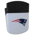 New England Patriots Clip Magnet - Use this attractive New England Patriots Clip Magnet to hold memos, photos or appointment cards on the fridge or take it down keep use it to clip bags shut. The New England Patriots Clip Magnet features a silk screened New England Patriots logo. Officially licensed NFL product Licensee: Siskiyou Buckle .com