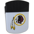 Washington Redskins Clip Magnet - Use this attractive Washington Redskins Clip Magnet to hold memos, photos or appointment cards on the fridge or take it down keep use it to clip bags shut. The Washington Redskins Clip Magnet features a silk screened Washington Redskins logo. Officially licensed NFL product Licensee: Siskiyou Buckle Thank you for visiting CrazedOutSports.com