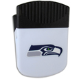 Seattle Seahawks Clip Magnet - Use this attractive Seattle Seahawks Clip Magnet to hold memos, photos or appointment cards on the fridge or take it down keep use it to clip bags shut. The Seattle Seahawks Clip Magnet features a silk screened Seattle Seahawks logo. Officially licensed NFL product Licensee: Siskiyou Buckle .com