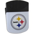 Pittsburgh Steelers Clip Magnet - Use this attractive Pittsburgh Steelers Clip Magnet to hold memos, photos or appointment cards on the fridge or take it down keep use it to clip bags shut. The Pittsburgh Steelers Clip Magnet features a silk screened Pittsburgh Steelers logo. Officially licensed NFL product Licensee: Siskiyou Buckle .com