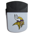 Minnesota Vikings Clip Magnet - Use this attractive Minnesota Vikings Clip Magnet to hold memos, photos or appointment cards on the fridge or take it down keep use it to clip bags shut. The Minnesota Vikings Clip Magnet features a silk screened Minnesota Vikings logo. Officially licensed NFL product Licensee: Siskiyou Buckle .com