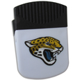 Jacksonville Jaguars Clip Magnet - Use this attractive Jacksonville Jaguars Clip Magnet to hold memos, photos or appointment cards on the fridge or take it down keep use it to clip bags shut. The Jacksonville Jaguars Clip Magnet features a silk screened Jacksonville Jaguars logo. Officially licensed NFL product Licensee: Siskiyou Buckle Thank you for visiting CrazedOutSports.com