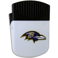 Baltimore Ravens Clip Magnet - Use this attractive Baltimore Ravens Clip Magnet to hold memos, photos or appointment cards on the fridge or take it down keep use it to clip bags shut. The Baltimore Ravens Clip Magnet features a silk screened Baltimore Ravens logo. Officially licensed NFL product Licensee: Siskiyou Buckle .com