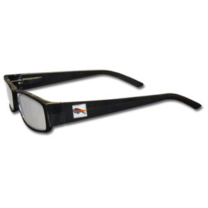 "Buffalo Bills NFL Reading Glasses - These Buffalo Bills NFL reading glasses are 5.25"" wide with 5.5"" arms with black frames featuring the Buffalo Bills logo on each arm. Officially licensed NFL product Licensee: Siskiyou Buckle Thank you for visiting CrazedOutSports.com"