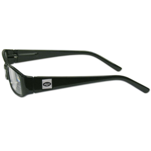 New York Jets Reading Glasses +1.25 - Our New York Jets reading glasses are 5.25 inches wide and feature the team logo on each arm. Magnification Power 1.25