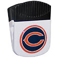 Chicago Bears Clip Magnet - Use this attractive NFL clip magnet to hold memos, photos or appointment cards on the fridge or take it down keep use it to clip bags shut. The magnet features a domed Chicago Bears logo. Officially licensed NFL product Licensee: Siskiyou Buckle .com