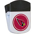 Arizona Cardinals Clip Magnet - Use this attractive NFL clip magnet to hold memos, photos or appointment cards on the fridge or take it down keep use it to clip bags shut. The magnet features a domed Arizona Cardinals logo. Officially licensed NFL product Licensee: Siskiyou Buckle .com