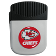 Kansas City Chiefs Clip Magnet - Use this attractive NFL clip magnet to hold memos, photos or appointment cards on the fridge or take it down keep use it to clip bags shut. The magnet features a domed Kansas City Chiefs logo. Officially licensed NFL product Licensee: Siskiyou Buckle Thank you for visiting CrazedOutSports.com