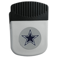 Dallas Cowboys Clip Magnet - Use this attractive NFL clip magnet to hold memos, photos or appointment cards on the fridge or take it down keep use it to clip bags shut. The magnet features a domed Dallas Cowboys logo. Officially licensed NFL product Licensee: Siskiyou Buckle .com