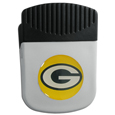 Green Bay Packers Clip Magnet - Use this attractive NFL clip magnet to hold memos, photos or appointment cards on the fridge or take it down keep use it to clip bags shut. The magnet features a domed Green Bay Packers logo. Officially licensed NFL product Licensee: Siskiyou Buckle .com