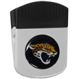 Jacksonville Jaguars Clip Magnet - Use this attractive NFL clip magnet to hold memos, photos or appointment cards on the fridge or take it down keep use it to clip bags shut. The magnet features a domed Jacksonville Jaguars logo. Officially licensed NFL product Licensee: Siskiyou Buckle Thank you for visiting CrazedOutSports.com