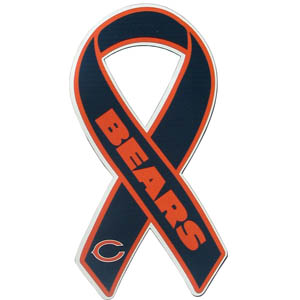Chicago Bears Ribbon Magnet - Show your love for your favorite team with this NFL ribbon magnet. Officially licensed NFL product Licensee: Siskiyou Buckle .com