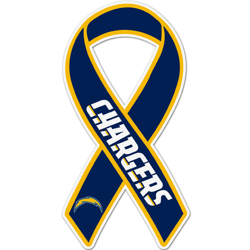 San Diego Chargers Ribbon Magnet - Show your love for your favorite team with this NFL ribbon magnet. Officially licensed NFL product Licensee: Siskiyou Buckle .com