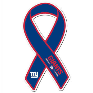 New York Giants Ribbon Magnet - Show your love for your favorite team with this NFL ribbon magnet. Officially licensed NFL product Licensee: Siskiyou Buckle .com
