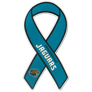 Jacksonville Jaguars Ribbon Magnet - Show your love for your favorite team with this NFL ribbon magnet. Officially licensed NFL product Licensee: Siskiyou Buckle Thank you for visiting CrazedOutSports.com