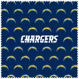 Los Angeles Chargers Microfiber Cleaning Cloth