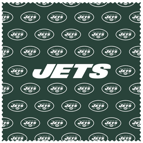 "New York Jets Sunglass Microfiber Cleaning Cloth - Our NFL New York Jets sunglass cleaning cloth is a 6.75"" square microfiber cloth that is perfect for keeping your sunglass free of dirt, oil, residue and smudges. The set includes 2 clothes with New York Jets logo pattern.  Officially licensed NFL product Licensee: Siskiyou Buckle Thank you for visiting CrazedOutSports.com"