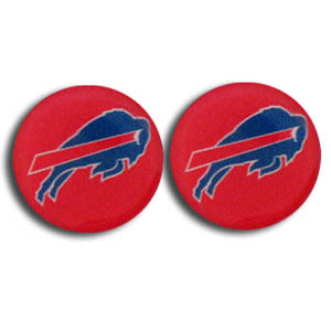 Buffalo Bills Stud Earrings - Show off your team pride with these NFL charm earrings with stud backs. Officially licensed NFL product Licensee: Siskiyou Buckle Thank you for visiting CrazedOutSports.com