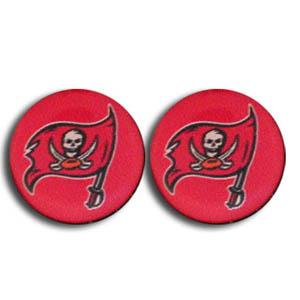Tampa Bay Buccaneers Stud Earrings - Show off your team pride with these NFL charm earrings with stud backs. Officially licensed NFL product Licensee: Siskiyou Buckle .com