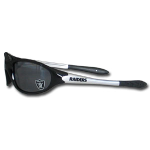 NFL Kid's Sunglasses - Oakland Raiders - Time for the kid's to get in the game! Our NFL kid's sunglasses are a great way to share in your love of the game. The lenses are UV400 and provide 100% protection against UVA and UVB radiation. 100% Lead Free. Officially licensed NFL product Licensee: Siskiyou Buckle Thank you for visiting CrazedOutSports.com