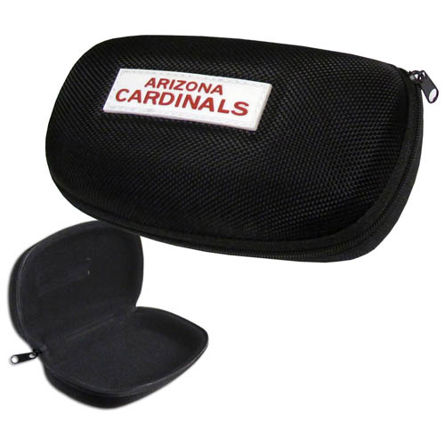 Arizona Cardinals Zippered Sunglass Case - Arizona Cardinals NFL hard sunglass cases are a great way to protect your sunglasses. The Arizona Cardinals hard molded shell protects the glasses from being crushed or damaged from dropping. The zippered closure prevents accidental opening and the soft lining protects the lenses from scratches. Officially licensed NFL product Licensee: Siskiyou Buckle .com